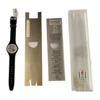 Swatch SAB103 Black Board Vintage Automatic Movement Unisex Fashion Watch - instruction manual