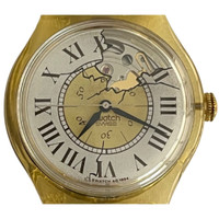 Swatch SAJ100 Missing Vintage Automatic Movement Unisex Fashion Watch - face