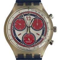 Swatch SCK402 Sea Port Chorno Vintage Unisex Fashion Watch - face