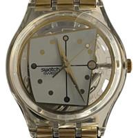 Swatch GK183 GK184 Mannequin Vintage Unisex Fashion Watch - face