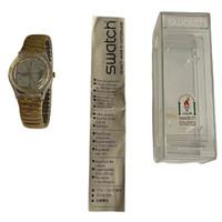 Swatch GK183 GK184 Mannequin Vintage Unisex Fashion Watch - instruction manual