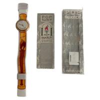 Swatch PMZ103 Ippolytos Pop Swatch Vintage Unisex Fashion Watch - instruction manual