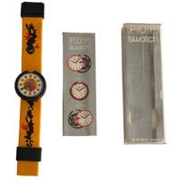 Swatch Pop Swatch PWB150 Patchwork Vintage Unisex Fashion Watch - instruction manual