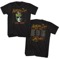 Steve Miller Band The Joker 1974 Tour Men's Unisex Black Fashion Concert T-shirt