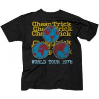 Cheap Trick World Tour 1978 Men's Unisex Black Vintage Fashion Concert T-shirt - back