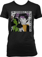 The Psychedelic Furs Talk Talk Talk Album Cover Artwork Women's Black T-shirt