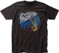 Dokken Tooth and Nail Album Cover Artwork Men's Black Vintage T-shirt