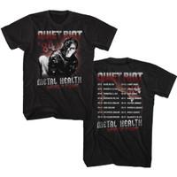Quiet Riot Metal Health World Tour 1984 Men's Unisex Black Vintage Fashion Concert T-shirt
