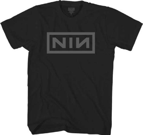 Nine Inch Nails NIN Logo Men's Black T-shirt