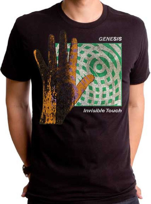 Genesis Invisible Touch Vintage rock band tshirt