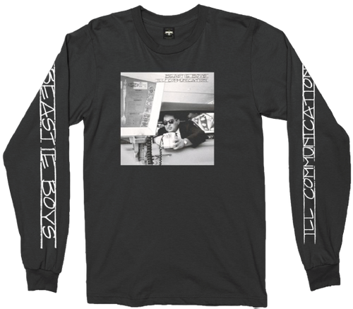 Beastie Boys Ill Communication Men's Unisex Long Sleeve Black Fashion T-shirt