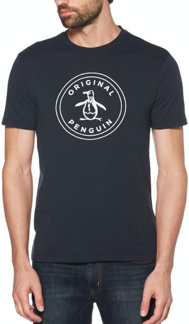 Original Penguin by Munsingwear Logo Men's Unisex Navy Blue Fashion T-shirt