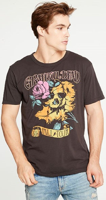 Grateful Dead 1994 Fall Tour Men's Black Vintage Fashion Concert T-shirt by Chaser