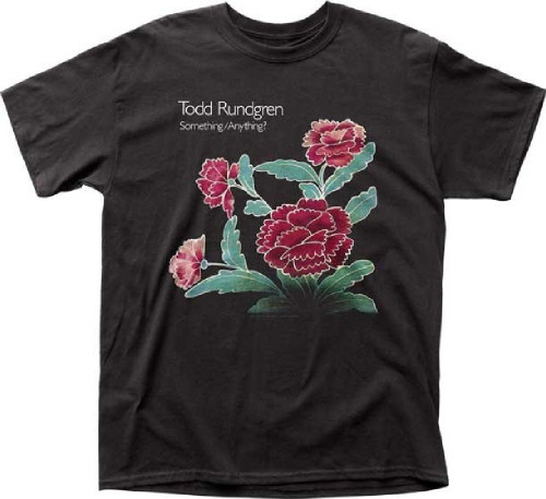 Todd Rundgren  Something/Anything? Album Cover Artwork Men's Unisex Black Fashion T-shirt