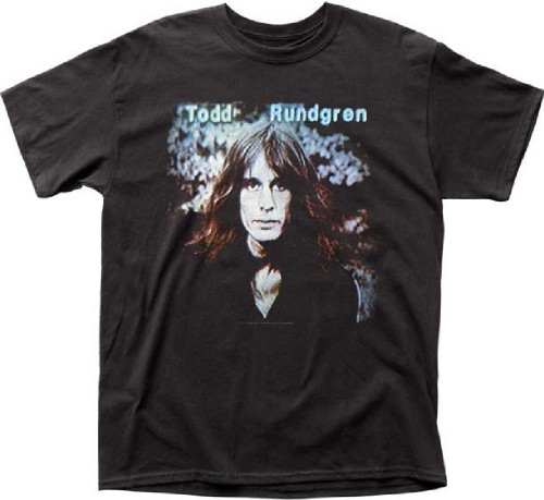 Todd Rundgren Hermit of Mink Hollow Album Cover Artwork Men's Unisex Black Fashion T-shirt
