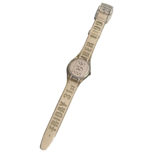 Swatch GK302 The Last Swatch of the Millennium Vintage Unisex Fashion Watch - front