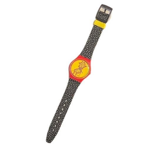 Swatch GR115 Dot Chair by Jennifer Morla Vintage Unisex Fashion Watch - front