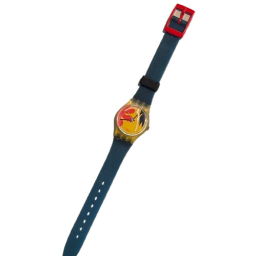 Swatch Nafea LK104 Women's Vintage Fashion Watch - front