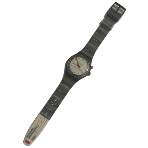 Swatch GB905 Packing List Vintage Unisex Fashion Watch - front