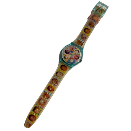 Swatch GL107 Sweet Baby Vintage Unisex Fashion Watch - front