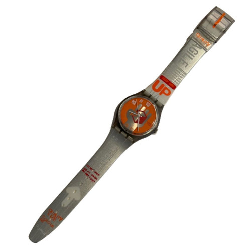 Swatch GM134 Urgent Vintage Unisex Fashion Watch - front