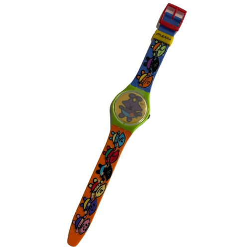 Swatch GG175 Alien Baby by Peter Marco Vintage Unisex Watch - front
