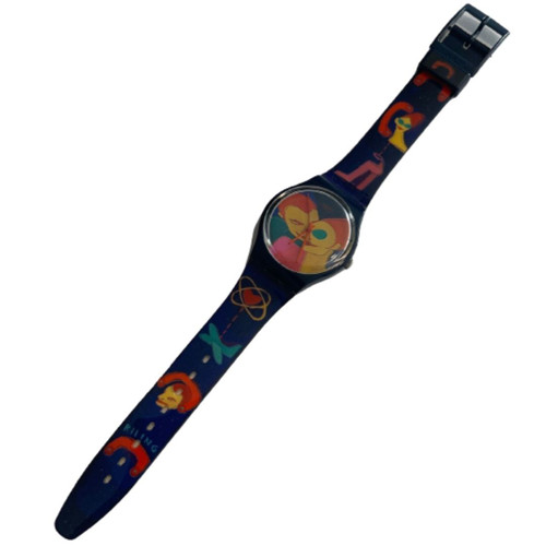 Swatch GN180 Call a Date by Marina Sagona Vintage Unisex Fashion Watch - front