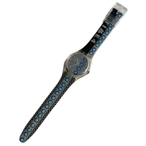 Swatch GK271 Time 4 by Laura Grisi Vintage Unisex Fashion Watch - front