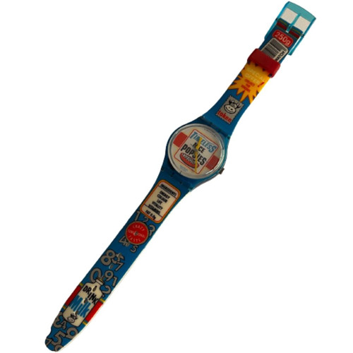 Swatch GN156 Good Morning Vintage Unisex Fashion Watch - front