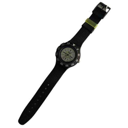 Swatch Scuba 200 SDB105 Black Shark Vintage Unisex Fashion Divers Watch - front