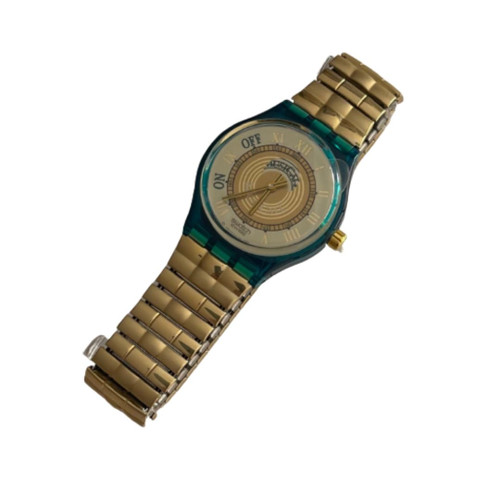 Swatch SLG100 Martingala Philip Glass Melody Vintage Unisex Fashion MusiCall Watch - front