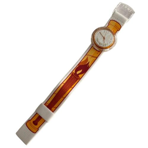 Swatch PMZ103 Ippolytos Pop Swatch Vintage Unisex Fashion Watch - front