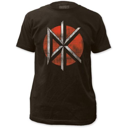 Dead Kennedys Logo Men's Unisex Black Vintage Fashion T-shirt