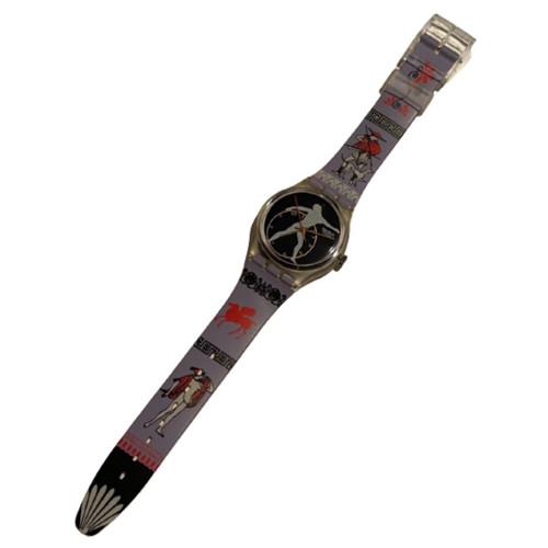 Swatch GK141 Discobolus Unisex Vintage Fashion Watch - front