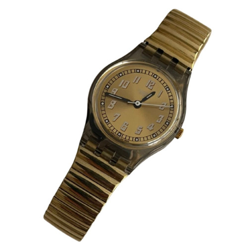 Swatch LM111 Offroad Women's Vintage Fashion Watch - front