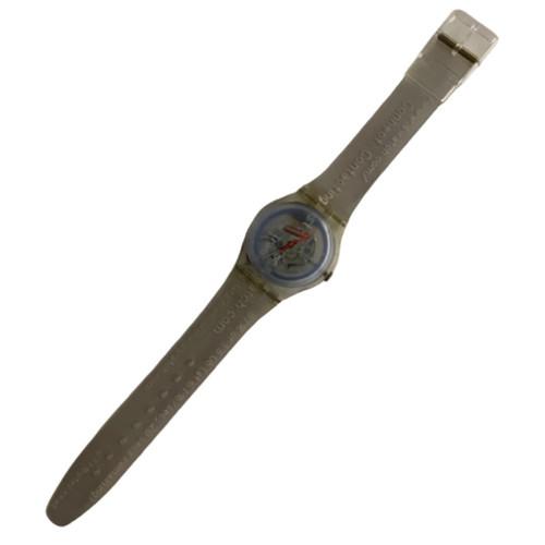 Swatch Watch SKK114 Cyber Commander Vintage Unisex Gift Pack - watch front
