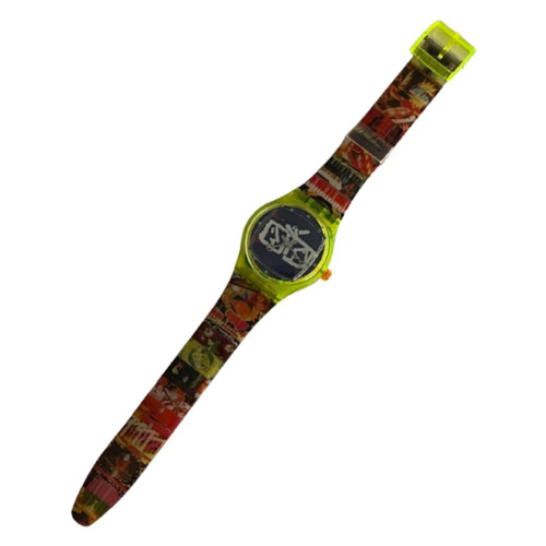 Swatch SLZ104PACK MusiCall Artist Special Limited Edition Vintage Unisex Fashion Watch Gift Pack - watch front
