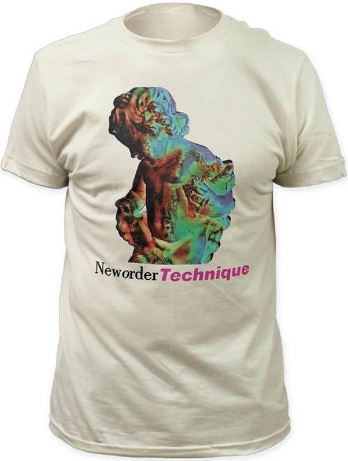 New Order Technique Album Cover Artwork Men's White T-shirt