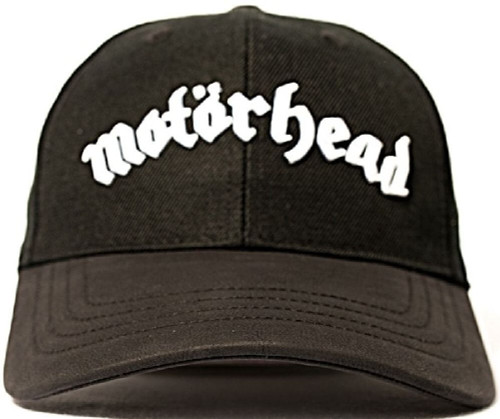 Motorhead Logo Black Baseball Cap - Front