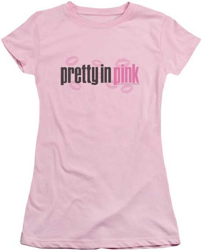 Pretty in Pink Movie Logo Women's Pink T-shirt