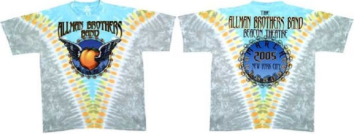 The Allman Brothers Band Concert T-shirt