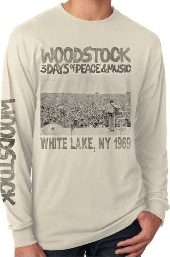 Woodstock Vintage Long Sleeve T-shirt