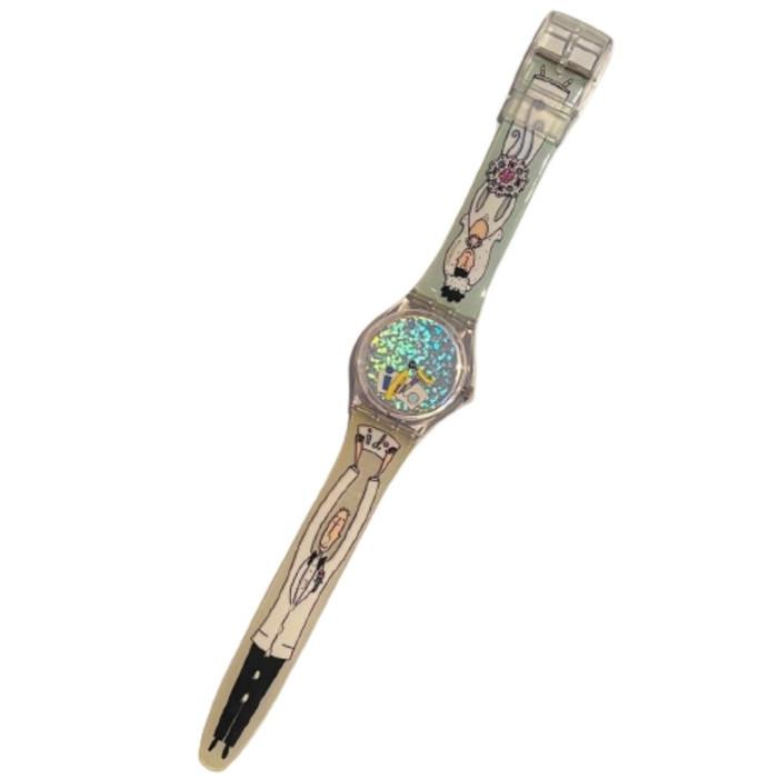 Swatch Watch GV110 Wedding Planner Vintage Unisex Fashion Watch - front