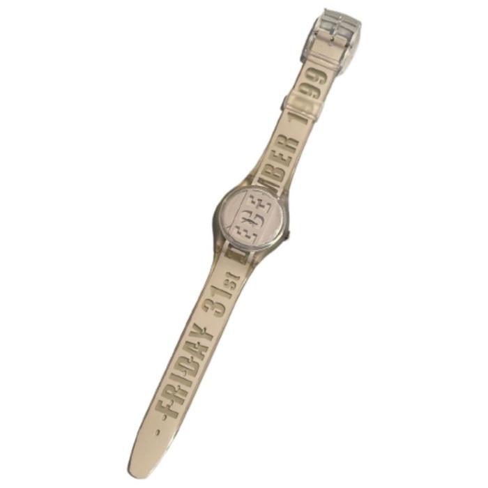 Swatch GK302 The Last Swatch of the Millennium Vintage Unisex Fashion Watch - front