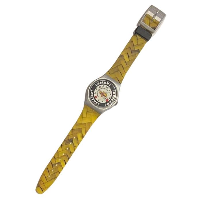 Swatch GM143 Sombrero 1998 Vintage Unisex Fashion Watch - front