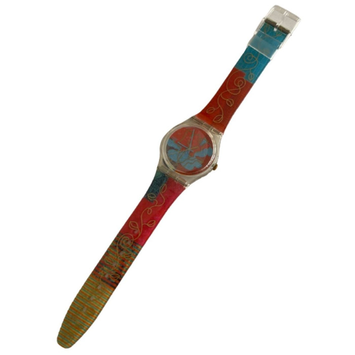 Swatch GK310 Madan by Otto Steininger Vintage Unisex Fashion Watch - front