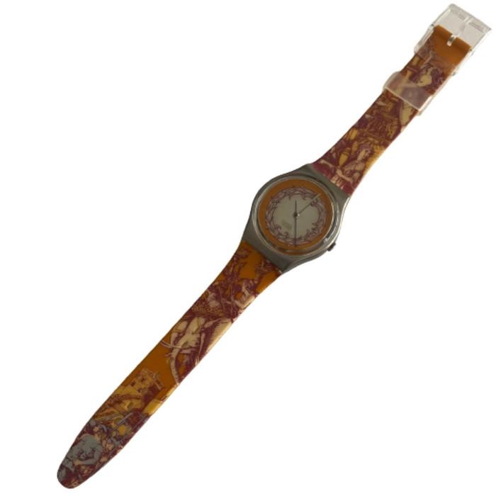 Swatch GX126 Voie Humane Vintage Fashion Watch - front