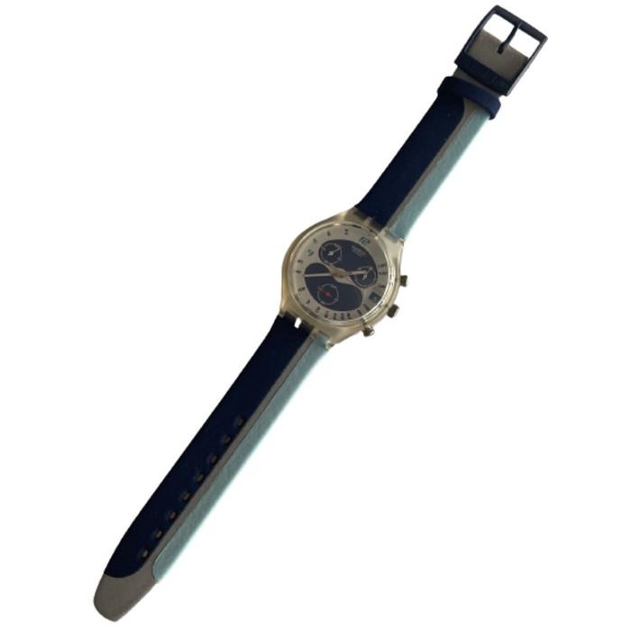 Swatch SCK412 Waterspeed Chrono Vintage Unisex Fashion Watch - front