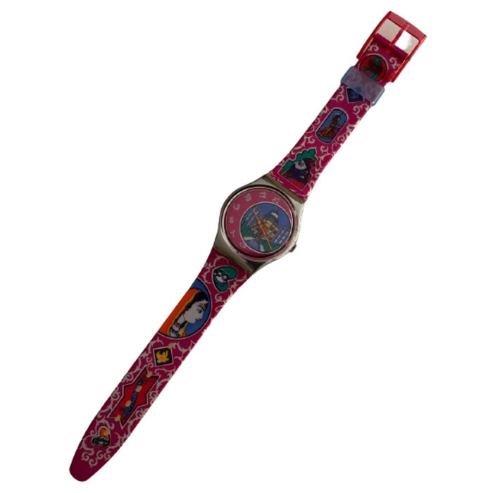 Swatch GX125 Dehli Vintage Unisex Fashion Watch - front