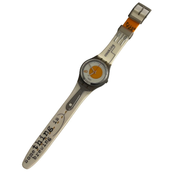 Swatch GM135 Sunny Side Up Vintage Unisex Fashion Watch - front